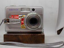 Pentax Optio E10. Digital Camera,3x Zoom Kit. (A-52A)Bin.