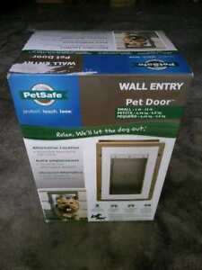 PetSafe Wall Entry Aluminum Pet Door for small dogs NEW