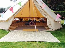 5M Bell Tent Hire - West Midlands Birmingham Sutton Coldfield Solihull