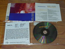 MARY J BLIGE - SEVEN DAYS / 3 TRACK MAXI-CD 1998 MINT! & INFO-FACTS