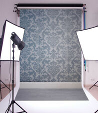 Vinyl Photo Backdrops Navy blue retro pattern Photography Background Studio Prop