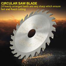 85mm 24Teeth Cemented Carbide Circular Saw Blade Woodwork Rotary Cut Disc Round.