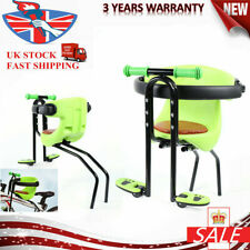Child Kids Bicycle Bike Seat Front Chair Carrier Sport Seats Safety Chair Green