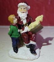 Grandeur Noel Train Village Santa Claus Figure Victorian Christmas   2001