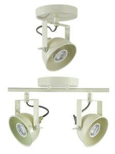 Moorlands Spotlight - Single or Double Light - BNIB - twin cream lamp ivory