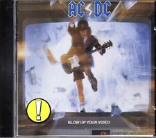 AC/DC ‎– Blow Up Your Video  CD Album 1990