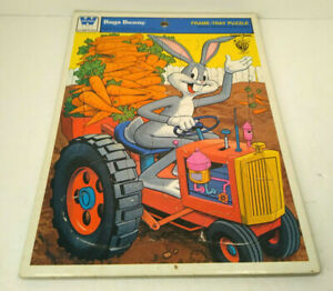 Looney Tunes WB Bugs Bunny Frame-Tray Puzzle ©1975 by Whitman 4515-1G