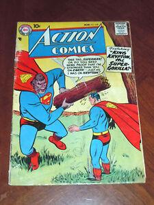 ACTION COMICS #238 (1958)  VG- (3.5) cond.  SUPERMAN, CONGO BILL, TOMMY TOMORROW
