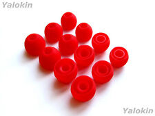 12pcs S/M/L Red Soft Replacement Eartips for Audio-Technica In-Ear Earphones