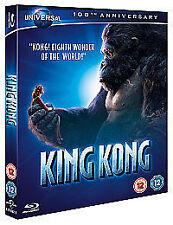 KING KONG - BLU RAY - 100TH ANNIVERSARY EDITION - JACK BLACK - NEW / SEALED
