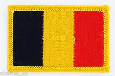 PATCH ECUSSON BRODE DRAPEAU BELGIQUE INSIGNE THERMOCOLLANT NEUF FLAG PATCHE