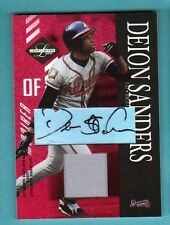 2003 Leaf Limited Moniker Deion Sanders Autograph Game jersey 1/5