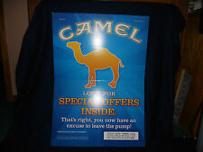 CAMEL SIGN CIGARETTE ADVERTISING TOBACCO JOE CAMEL SMOKING CIGARETTES