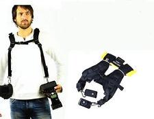 Double Courroie rapide 'Quick Strap' pr Nikon D90 D7000 D7100 Canon 5DII 6D 7D..