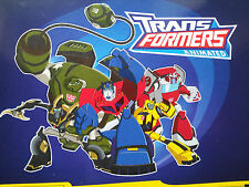 TRANSFORMERS ANIMATED FULL SET OF STICKERS X212