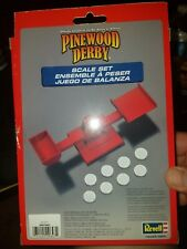 Revell Pinewood Derby Scale Set balancing kit - Boy Scout Licensed - Brand New!