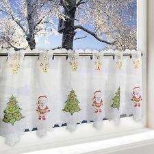 Bistro scheibengardinen ebay - Bistrogardine weihnachten ...