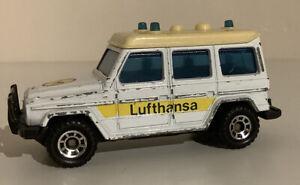 Matchbox Mercedez Benz Lufthansa Car