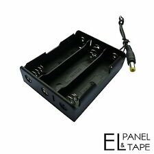 3 x 18650 Battery Box for Electroluminescent Panels, Tapes and Wires