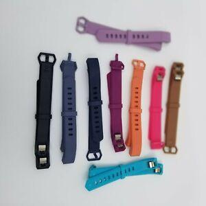 Fit Bit Alta Watch Bands Lot Of 9 Pink Purple Orange Blue Black Brown Adjustable