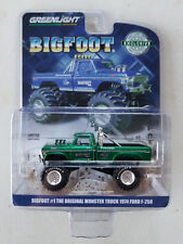 Greenlight 1:64 BIGFOOT #1 Original 1974 Ford F-250 Monster Truck Green Machine