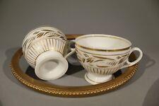 Biedermeier Tasse Tassen 2 Stück Golddekor ,  schöne Erhaltung