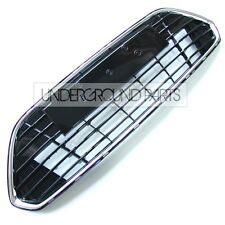 FORD MONDEO MK4 FACELIFT FRONT LOWER CENTRE BUMPER GRILLE CHROME BLACK PANEL