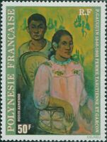 French Polynesia 1978 Sc#C159,SG271 50f Tahitian Woman and Boy painting MNH