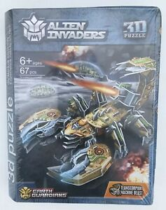 3D Puzzle - Earth Guardians - Brand New - Team Scorpian Machine Beast - Ages 6+