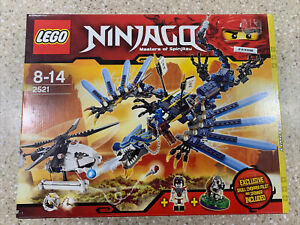 NEW LEGO 2521 Ninjago Lightning Dragon Battle Retired BNIB Limited edition RARE