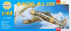 Macchi MC.200 Saetta, Italian fighter (1/48 model kit, Smer 0820)