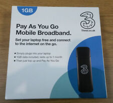 3 Carrier 3G Mobile Broadband Devices