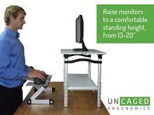 LIFT Standing Desk Conversion tall adjustable height ergonomic stand up riser
