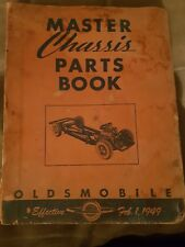 oldsmobile 1949 master chassis parts book Feb 1 1949 PA 49-8