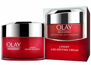 Olay Regenerist 3 Point Firming Anti-Ageing Cream Moisturiser 15ml Buy 1, 2,Or 3