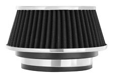 """Cone Air Filter Fits 3""""&  3.5"""" & 4"""" Diameter for Intake Tube Black CONE, Clamp"""