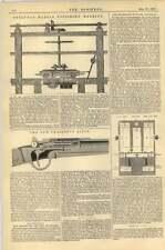 1867 Pyrenean Marble Polishing Machine Chassepot Rifle