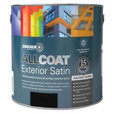 Zinsser Allcoat Multi-Surface Self-Primer Exterior 15 Year SB Satin Black 1L