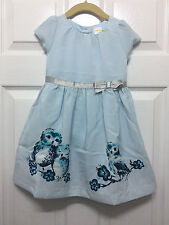NWT $35 Gymboree Owl Garden Dress, Butterfly Garden, Size 2T