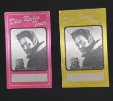 ANDREW DICE CLAY Authentic Concert Back Stage Pass SET of 2