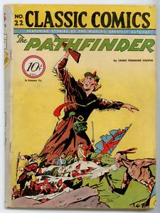 Classics Comics #22 ORIGINAL 1st EDITION [Island Pub. Ed.] (1945) Pathfinder
