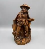 "Francis Lascour Keramik Figur ""Hirte mit Lamm"" H-21 cm Made in France.  Keramik"
