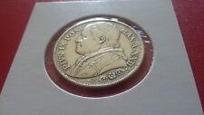 2 LIRE  ARGENT1867.R    VATICAN .