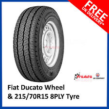 "Fiat Ducato Motorhome 2006 - 2014  Full Spare Wheel 15"" and 215/70R15 C Tyre"