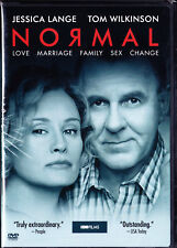 Normal (DVD, Widescreen, 2003) Jessica Lange, Wilkinson, Transgender, LGBT New