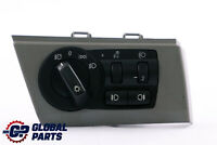 BMW X3 Series E83 LCI Light Headlight Control Element Switch Panel Grey 3420284