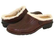 UGG Australia LANGFORD Brown Shearling Mule Shoes Women's 8.5 NEW DISPLAY