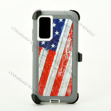 Samsung Galaxy S20 S20+ Plus S20 Ultra Defender Case Cover w/Kickstand Belt Clip
