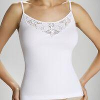 """White Black Women Sexy  Sleeveless Blouse T-shirt  Top """"Kari"""" - Cotton S M L XL"""