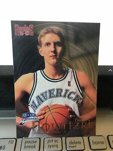 DIRK NOWITZKI 1998-99 FLEER BRILLIANTS ROOKIE....HALL OF FAMER....NM